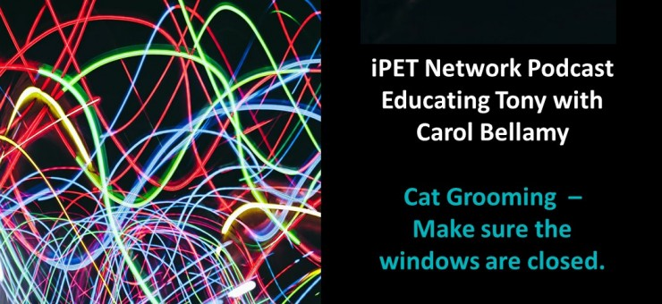 iPET Network Podcast: Educating Tony with Carol Bellamy