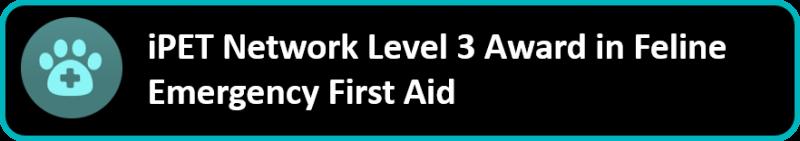 iPET Network Level 3 Award in Feline Emergency First Aid