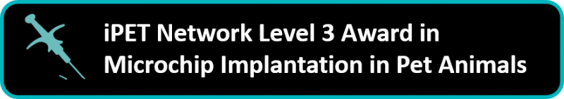 Level 3 Award in Microchip Implantation in Pet Animals